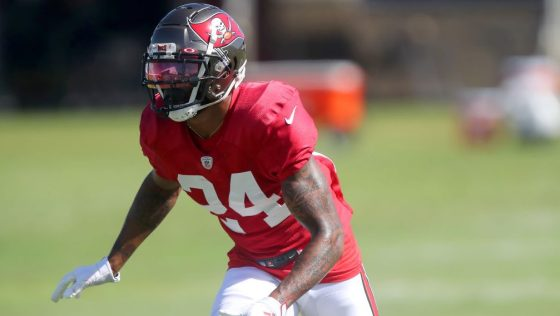 NFL: AUG 19 Buccaneers & Titans Joint Training Camp