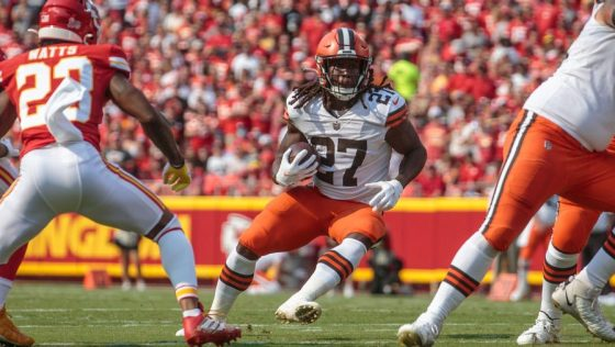 NFL: SEP 12 Browns at Chiefs