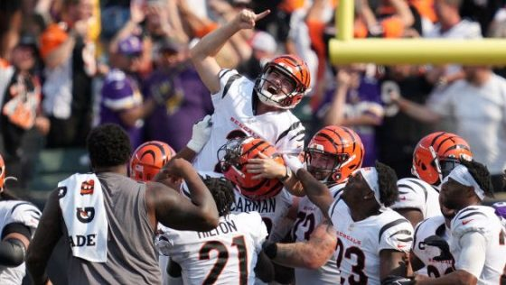Vikings fall to Bengals in overtime