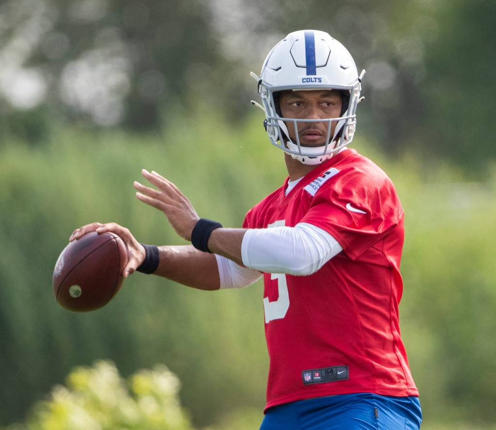 Report: Brett Hundley took majority of starter reps for Colts on Wednesday - NBC Sports