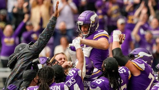 NFL: OCT 10 Lions at Vikings