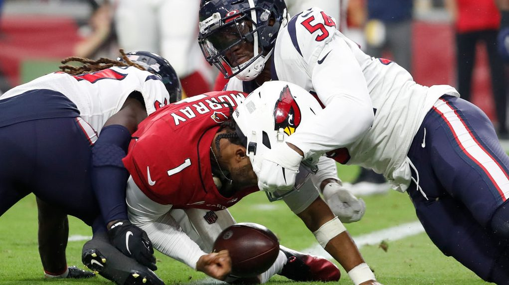 Kyler Murray insists he is OK after taking some big hits Sunday - NBC Sports